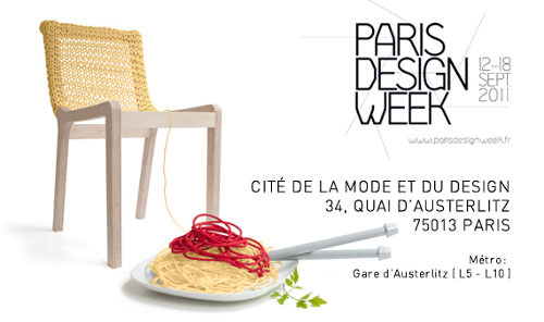 Paris Design Week 2011, chaise tricotée Granny Chair