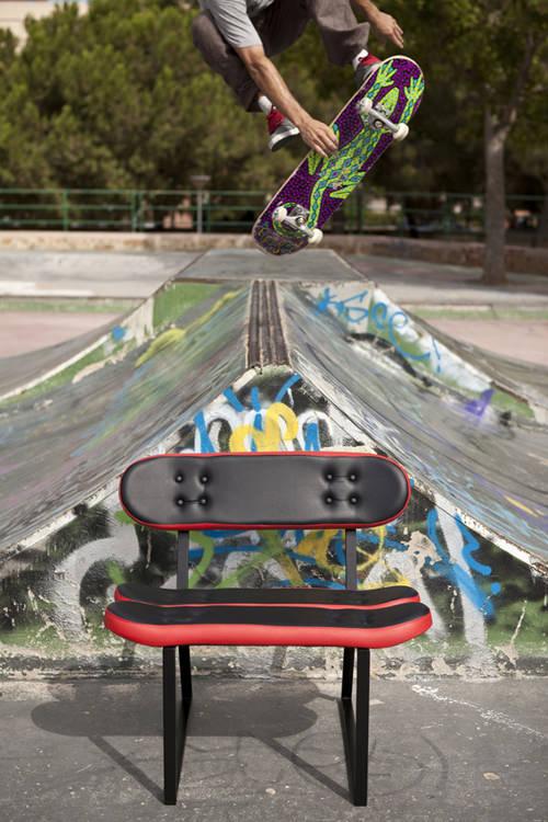 Mobilier de rue par Skate Home