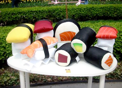 Coussin sushis hummmm