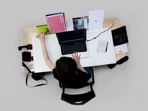 Bureau My writing desk par Inesa Malafej