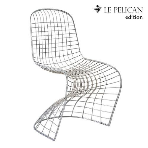 verner panton + harry bertoia = chaise pantoia - blog esprit design - Chaise Panton Pas Cher