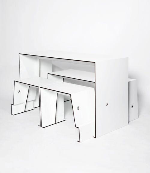 The Compact Café Table par Sigurd Larsen
