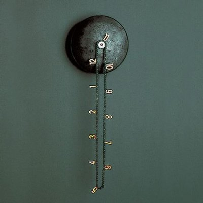 Horloge Cantena par Andreas Dober