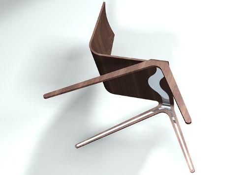 Joe Doucet Designer : Chaise bound