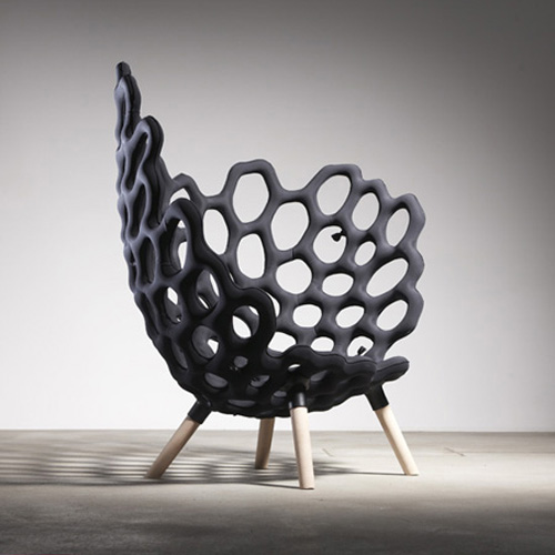 Textile Moulded Chair par le Studio Hausen