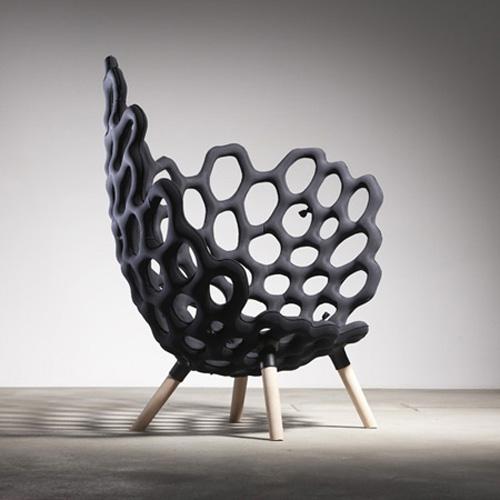 Textile moulded chair par le studio hausen blog esprit for Studio design sillas