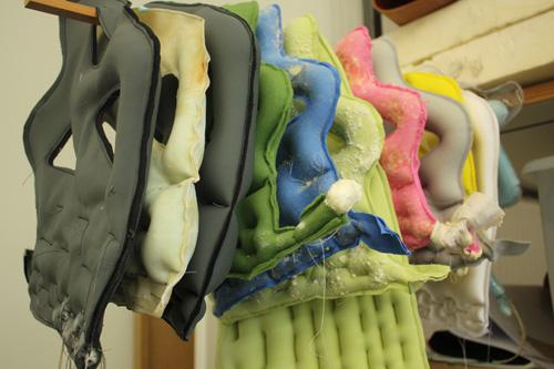 Textile Moulded Chair par le Studio Hausen