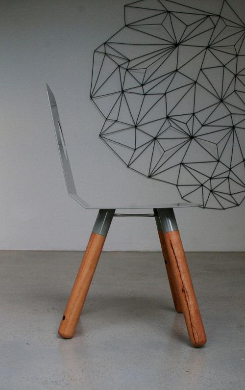 Chaise Full Moon par Julien Lamont