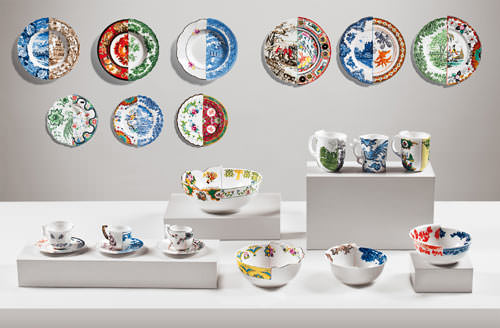 Collection Hybrid, rencontre Occident et Orient par Seletti