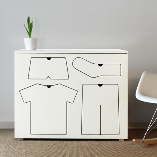Training Dresser, la commode pour enfant par Peter Bristol