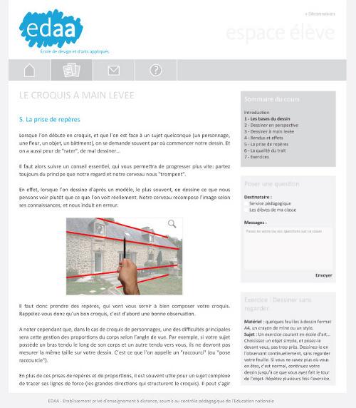 EDAA - Ecole de Design et d'Arts Appliqués toute neuve
