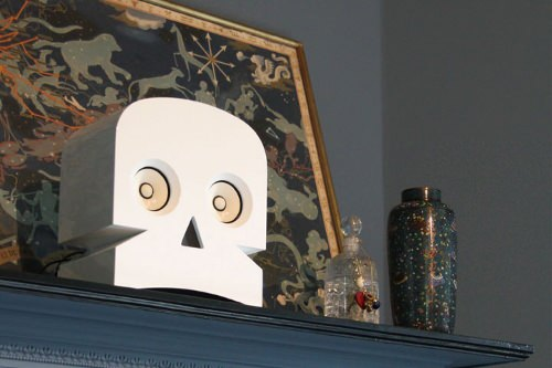 MinuSkull enceinte amplifiée par KUNTZEL DEYGAS design