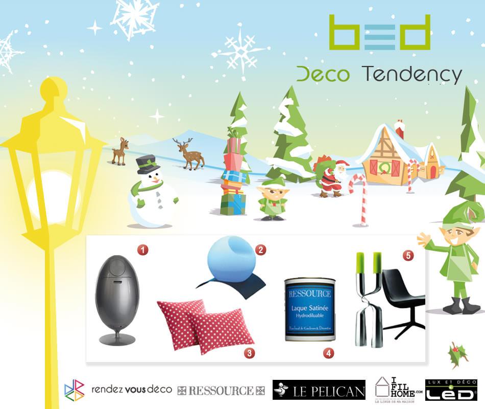 Les gagnants du Grand Jeu concours de Noël Design sont