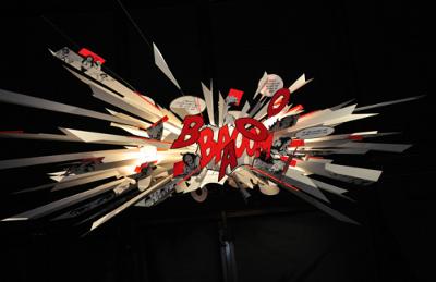 Lampe Big Bang par Ingo Maurer