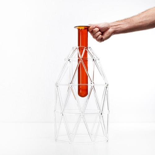 Wire Collection vase par Matteo Zorzenoni