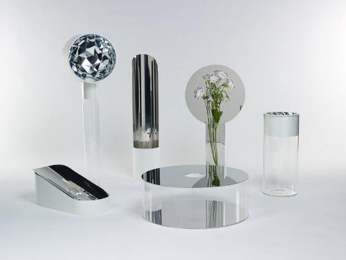 Narciso une collection de Vase + Miroir par Giorgia Zanellato