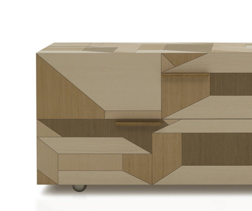 molas le bahut par le studio italien lucidi pevere - blog esprit ... - Meuble Bahut Design Italien