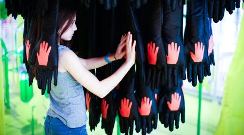 Projet blobterre Centre Pompidou - credit photograph : Simon Bouisson