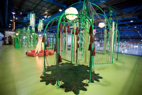 Exposition blobterre Centre pompidou Paris par matali crasset - credit photograph : Simon Bouisson