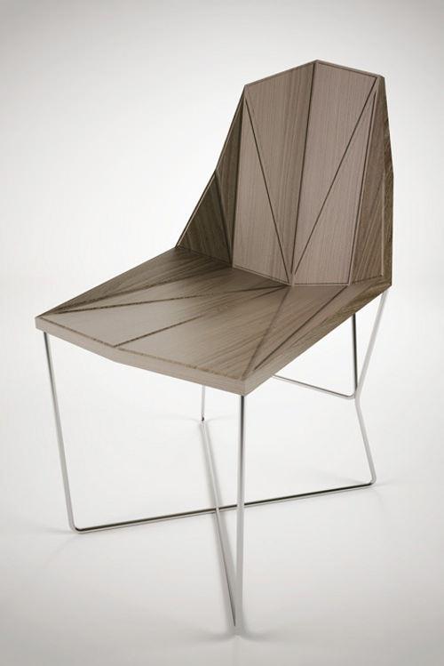 Collection TISA chaise et table par Branko Matic