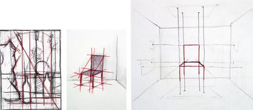 Du dessin à la chaise, de la chaise au dessin par Marta bakowski