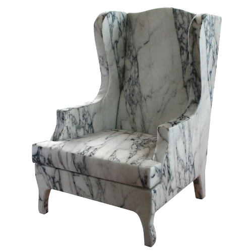 fauteuil louis xv de marbre par maurizio galante blog esprit design. Black Bedroom Furniture Sets. Home Design Ideas
