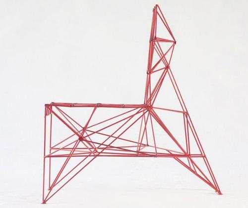 Fauteuils ou Sculptures par Baltasar Portillo