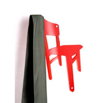 Hang on patère design chaise