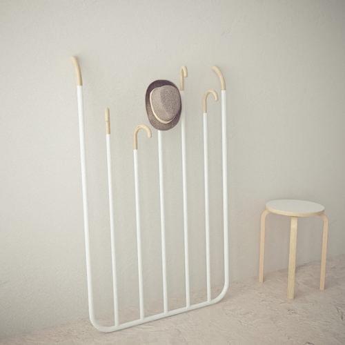 hi bye le portemanteau par gauzak blog esprit design. Black Bedroom Furniture Sets. Home Design Ideas