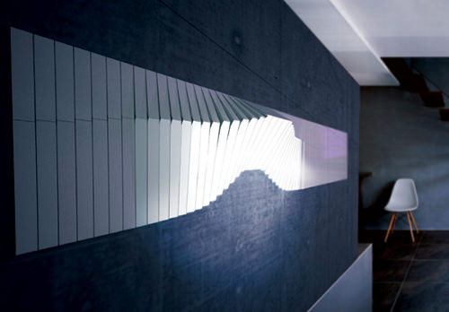 Mur lumineux Flowall par Jiel Park