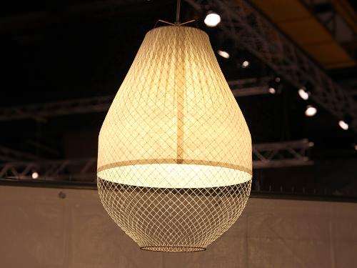 collection meshmatics luminaire de bambou et grillage par. Black Bedroom Furniture Sets. Home Design Ideas