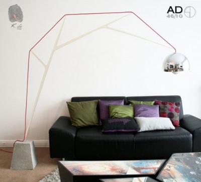 AD46/10, lampe de salon par Romain Duclos