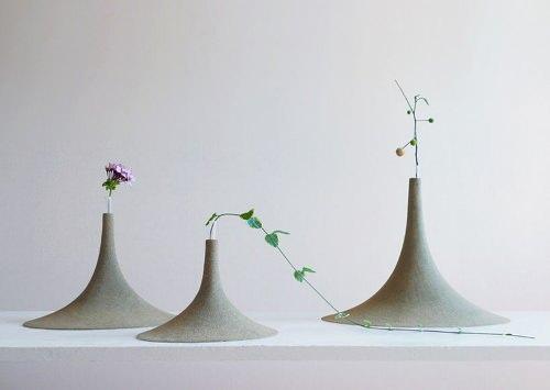 Vase de sable par Yukihiro Kaneuchi