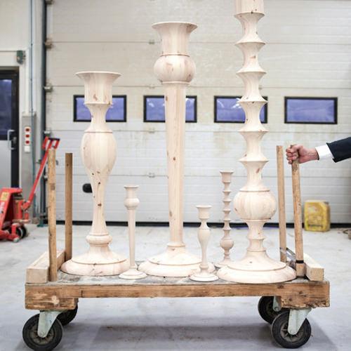 Holy chandelier XXl par Anki Gneib