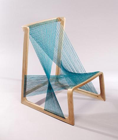 Fauteuil de soie par Asa Kärner