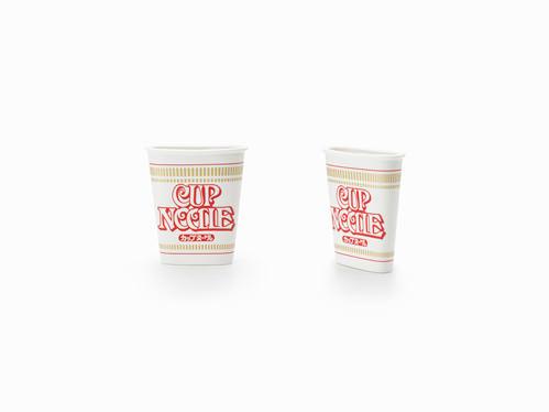 Cupnoodle verres ordinaires ou extraordinaires par Nendo