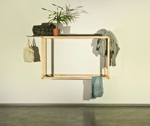 Etagère living structure par David Hanauer