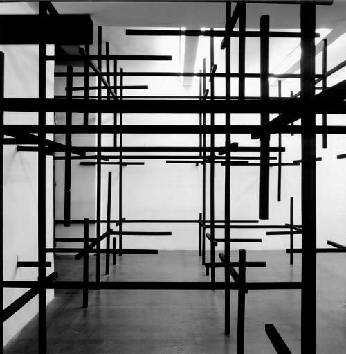 Art et géométrie par Esther Stocker