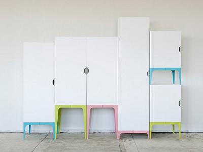 Garde-robe modulaire par Matthias Ries