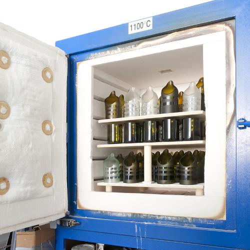 Design recyclé, le travail du verre par Lucirmás
