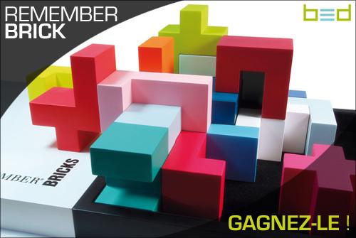Un Remember Bricks bientôt à GAGNER
