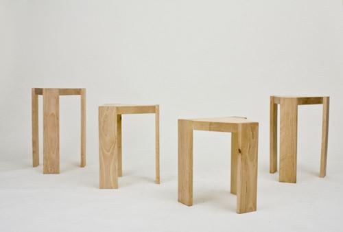 4Some le tabouret quatre en un par Elina Järvinen