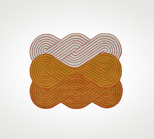 Tapis Tresse par Samuel Accoceberry