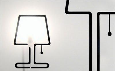 LES LAMPES STICKERS