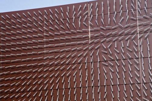 Quand le vent devient acteur, installation Windswept par Charles Sowers