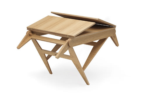 Mon oncle a une table et relevable par fr d ric cadet for Table de jardin modulable