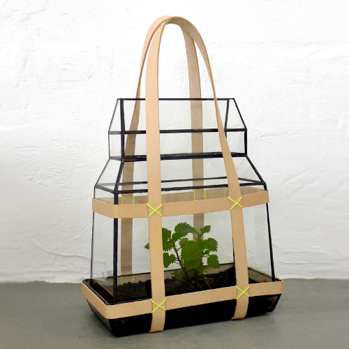 Projet Greenhouse to Go par le studio Besau Marguerre
