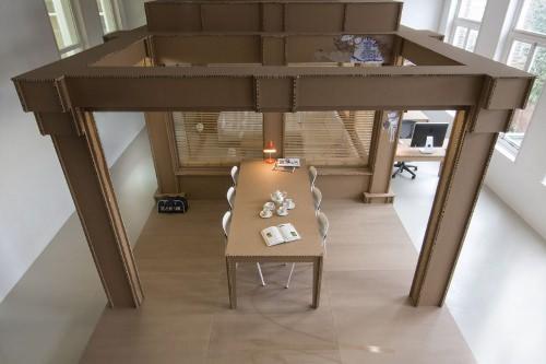 Mon bureau tout en carton par alrik koudenburg esprit design
