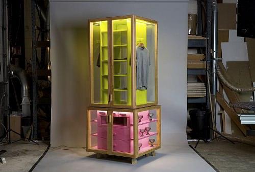 wardrobe l'armoire double jeu par hierve - blog esprit design - Meuble Vitrine Design
