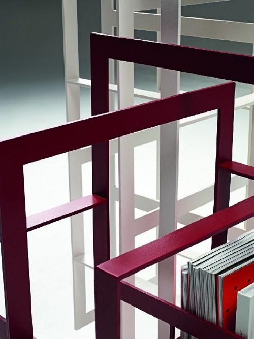 biblioth que weave par chicako ibaraki pour casamania. Black Bedroom Furniture Sets. Home Design Ideas